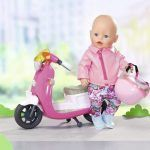 ropa reborn baby born - city deluxe scooter outfit
